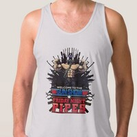 men's tank top welcome to the gun show
